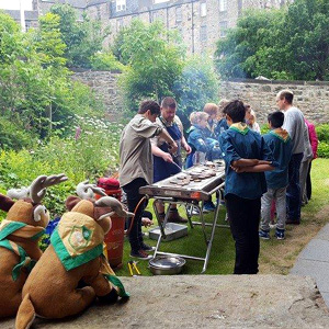 11th Edinburgh North East Scouts Community Barbeque